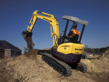 Excavator hire in Newcastle